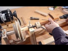 How to Build Your Own Lathe Out of Wood