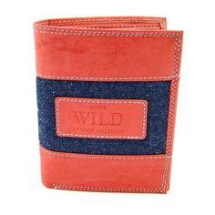 Pánská kožená peněženka lososová - peněženky AHAL Card Holder, Wallet, Collection, Tatoo, Handmade Purses, Letter Tray, Diy Wallet, Purses