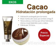 Sabían que las cremas de Natura Ekos Cacao mantiene su piel hidratada hasta por 36 hrs.  #NaturaTiendaOnline www.naturatienda.com