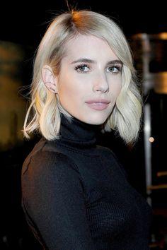 Emma Roberts, Layred bob Haircuts,bob haircuts with softlines