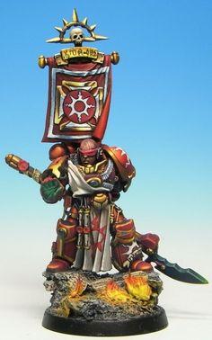 Visual Codex Project: Thousand Sons (The Great Crusade) Warhammer 40k Figures, Warhammer 40k Miniatures, Warhammer 40000, Battle Fleet, Chaos Legion, Miniaturas Warhammer 40k, Sci Fi Miniatures, Thousand Sons, Crusaders