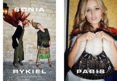 Hilary Blonde: Lizzy y Georgia Mick Jagger son las estrellas de la campaña primavera verano 2015 de Rykiel
