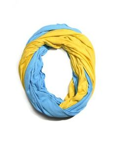 Game Day Color Block Infinity Scarves