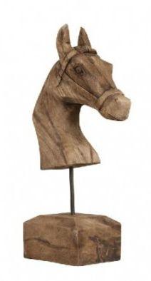 dekoracje domu figurka koń