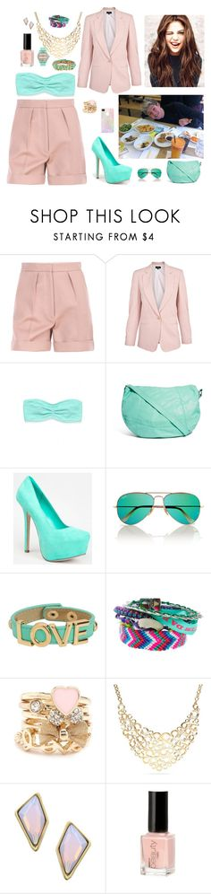 """Going To Nando's With Niall"" by mary-5so1ds ❤ liked on Polyvore featuring STELLA McCARTNEY, Paul Smith, Victoria's Secret, Pieces, Breckelle's, Ray-Ban, Aéropostale, Charlotte Russe, Coach and Belle Noel by Kim Kardashian"