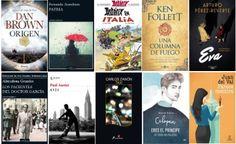Libros más vendidos semana del 23 al 29 de octubre en #ficción