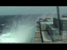As a vessel bends at sea | Seefahrt24.de