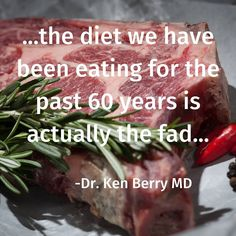 """Pamela on Instagram: """"Dr Ken Berry MD, dropping simple yet concise truth bombs about Keto & Carnivore being fad diets. . . . @kendberry.md 👏 . . . #faddiet…"""" Meat Diet, Paleo, Keto, Fad Diets, Atkins, Berry, Low Carb, Vegetarian, Whole30"""