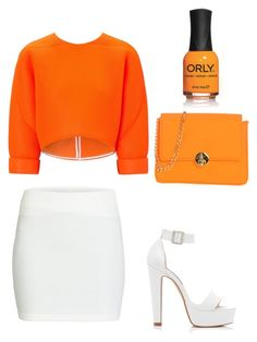 Orange ! by claudiadarcy101 on Polyvore featuring polyvore, fashion, style, Maticevski, ONLY, Forever New, Camomilla and ORLY. I hope you like the set ! Follow and like to see more !   Instagram : _polyvore_fashionista101_ Polyvore : claudiadarcy101