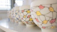 Leaf tea bowls a decorating … Christmas market stock is a coming!   #workinprogress #inthestudio #clay #ceramics #ceramicist #ceramicart #ceramicartist #pottery #art #artist #artoftheday #handmade #handmadwithlove #handmadeinaustralia #creative #create #porcelain #stoneware #homewares #teacups #teabowls #contemporaryceramics #wheelthrown #wheelthrownpottery #wheelthrownceramics #australianceramics #australianmade #leaf #photooftheday #inspiredbynature