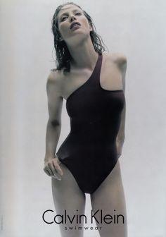 Calvin Klein Swimwear Fall/Wint 1996 - Christy Turlington