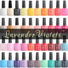 Lavender Violets Soak Off UV LED Color Nail Gel Polish 8ml With Packing Box //Price: $4.00 & FREE Shipping //     #hairextension #style #beauty #woman #love