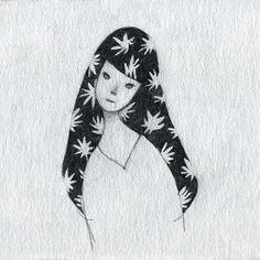 Satoshi Ota aka オオタサトシ (Japanese, b. Red Lipsticks, Yamaguchi, Japanese, Embroidery, Tokyo, Art, Art Background, Needlepoint, Japanese Language