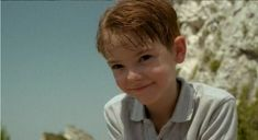 thomas sangster - look at his little baby face!<<<< he was probably 12 when this was taken