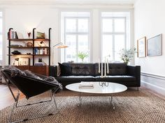 Mid century modern home in Stockholm - via Coco Lapine Design