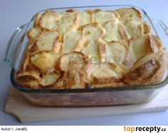 Žemlovka s jablky a tvarohem Apple Pie, Potato Salad, Cauliflower, Macaroni And Cheese, Potatoes, Menu, Vegetables, Cooking, Ethnic Recipes