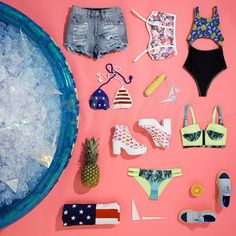 Too pool for school! ☀️ Gettin' ready for endless pool parties and perpetual beach days http://nsty.gl/rw : @samkillssam