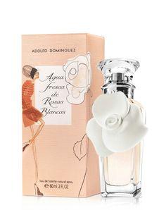 Agua fresca de Rosas Blancas de Adolfo Domínguez
