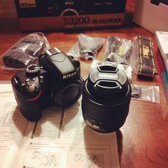 Nikon D3200 Blogger Life