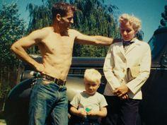Neal Cassady, Carolyn Cassady and their son.