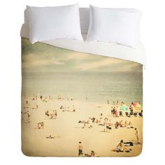 Shannon Clark Vintage Beach Duvet Cover | DENY Designs Home Accessories