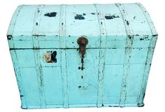 Antique Romanian Trunk