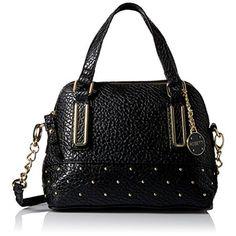 Rosetti. Micro Polly Black Crossbody Handbag Purse Medium.