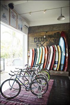surfboards Deus Ex Machina, Bali . . . #surf #sealife