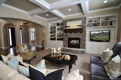 1000 Images About Off center Fireplace On Pinterest Off