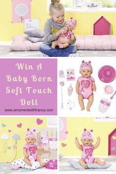 Win A Baby Born Soft Touch Doll • As you all know, my girls love dolls and last week I published a review my girlsdid about theBaby Born Interactive Dollwhich was a boy and they have been playing with him so many times!Ithink they will never get bored with any of their dolls! They genuinely play with each of them all the time.  #play #parenting #toys #reviews