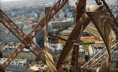Eiffel Tower wind turbine