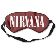 BestSeller Custom The Famous Nirvana Band Sleep Mask/Sleep Eyes Mask/Sleeping Mask/Eyeshade/Blindfold ** To view further for this item, visit the image link. (Note:Amazon affiliate link)