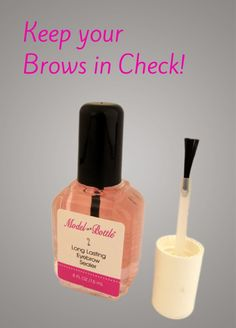 Need to Keep Your Eyebrows in Shape?  Model in a Bottle's Long Lasting Eyebrow Sealer Might be Worth a Look!