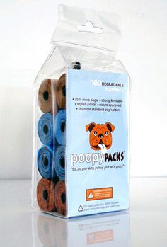 MetroPaws degradable Poopy Packs