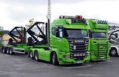 Road Hog, Container Truck, Scania V8, Semi Trucks, Rigs, Trailers, Norway, Sweden, Legends