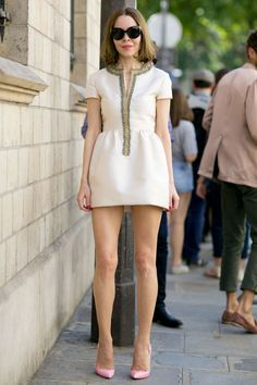 El Street Style más cool de París Haute Couture : ELLE
