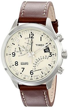 Timex Men's T2N932DH Stainless Steel Watch with Leather Band Timex http://www.amazon.com/dp/B008HY8YZO/ref=cm_sw_r_pi_dp_w6Iwvb14V7RN5