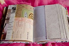 Carnivale Art Journal - love this journal done from repurposed materials!