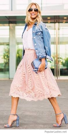 White, pink, denim and more