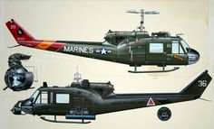 Vietnam Era - Bell Huey Helicopter