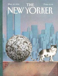 New Yorker cover by Turkish artist Gurbuz Dogan Eksioglu