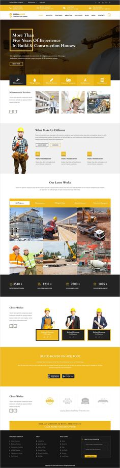 Construction is wonderful #Muse template for #construction #building business website download now➩ https://themeforest.net/item/construction-corporate-muse-template-multiple-pages/17272270?ref=Datasata