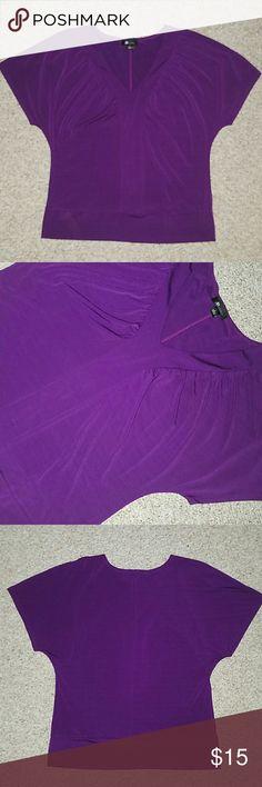 Blouse Purple blouse, Size L from AB Studio AB Studio Tops