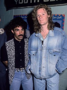 Musical Performers John Oates and Daryl Hall