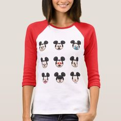 Mickey Mouse Emojis T-Shirt - trendy gifts cool gift ideas customize