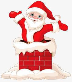 Buy Santa Claus Jumping from Chimney by Dazdraperma on GraphicRiver. Happy Santa Claus jumping from chimney. Christmas Colors, Christmas Art, Christmas And New Year, Christmas Decorations, Christmas Drawing, Christmas Paintings, Santa Claus Drawing, Clipart Noel, Vector Clipart