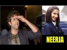 CHECKOUT Hrithik Roshan's REACTION after watching Sonam Kapoor's movie NEERJA. See the full video at : https://youtu.be/qBBSoJVAvyg #hrithikroshan #neerja #sonamkapoor