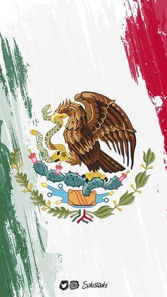 Mexico wallpaper by splastroke - 65 - Free on ZEDGE™ México Riviera Maya, Art Chicano, Mexico Wallpaper, Mexican Artwork, Mexico Soccer, Aztec Culture, Mexican Flags, Aztec Warrior, Mexico Culture