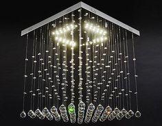 Led Kristall Kronleuchter ~ Besten kristall deckenleuchte bilder auf kristall