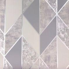 Superfresco Milan Geo Silver Wallpaper 106405 Geometric Wallpaper Silver Wallpaper Rose Gold Wallpaper Bedroom Wallpaper Texture